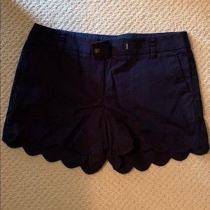 Adorable scalloped shorts